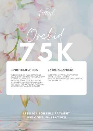 Wedding Orchid Package