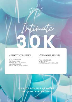 Intimate Photo and Video Package